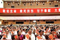 President Xi urges accelerated building of medical system