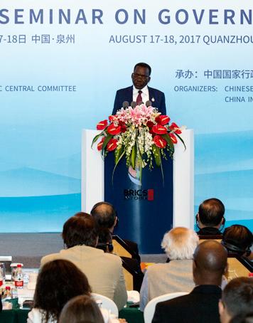 Highlights of Mizengo Peter Pinda's speech at BRICS governance seminar