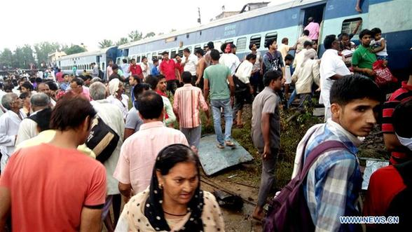 Deadly train crash in India's Uttar Pradesh