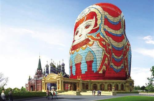 Tourism thrives on China-Russia border
