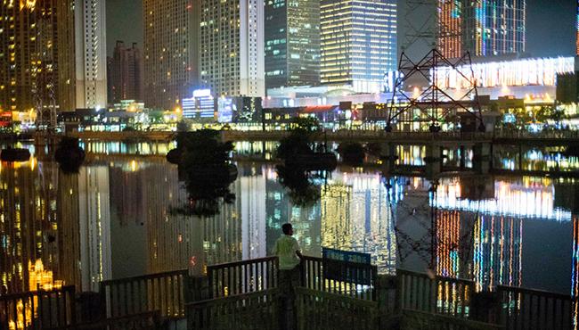 Night time in Quanzhou, Fujian