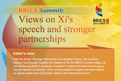 BRICS Summit: Views on President Xi's speech and stronger partnerships