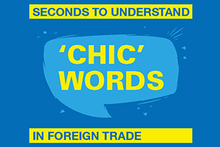 Seconds to understand 'CHIC' words in foreign trade
