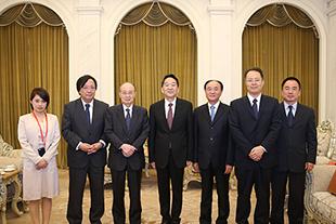 Jiang Jianguo meets delegation from Beijing-Tokyo Forum