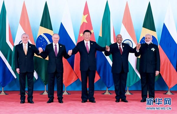 9月4日,金砖国家领导人第九次会晤在厦门国际会议中心举行.国家主图片