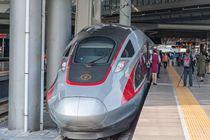 Fuxing runs on Beijing-Shanghai line