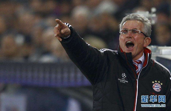 Bayern Munich appoint Heynckes as coach to end of season