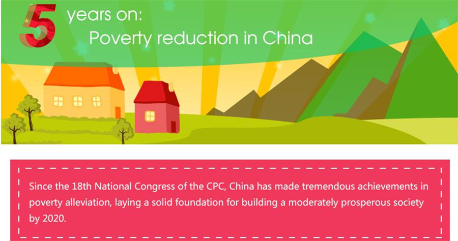 5 years on : Poverty reduction in China
