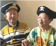 An elderly couple find fame in livestreaming