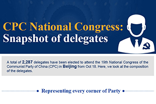 19th CPC National Congress: Snapshot of delegates