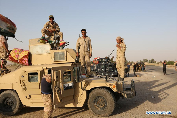 Iraqi forces 'launch major Kirkuk operation'