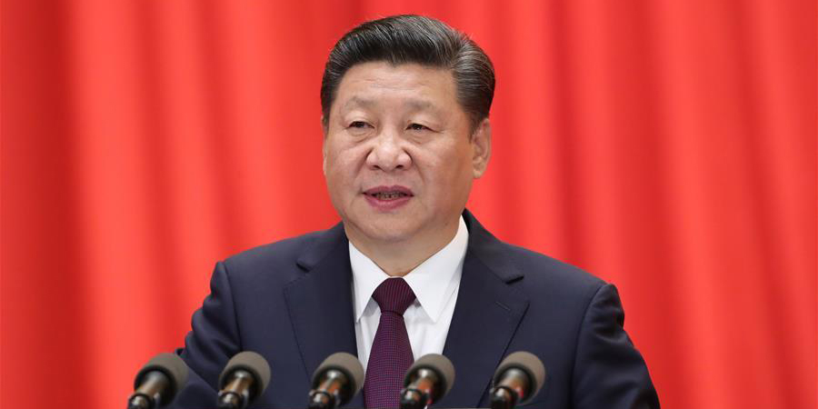 Xi Jinping delivers report to CPC congress