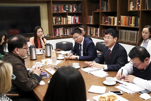 China's Xinjiang cultural exchange delegation visits US