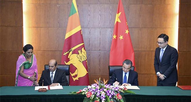 China, Sri Lanka to enhance cooperation under Belt and Road Initiative