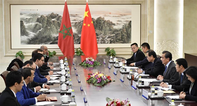 China, Morocco sign MOU on Belt and Road