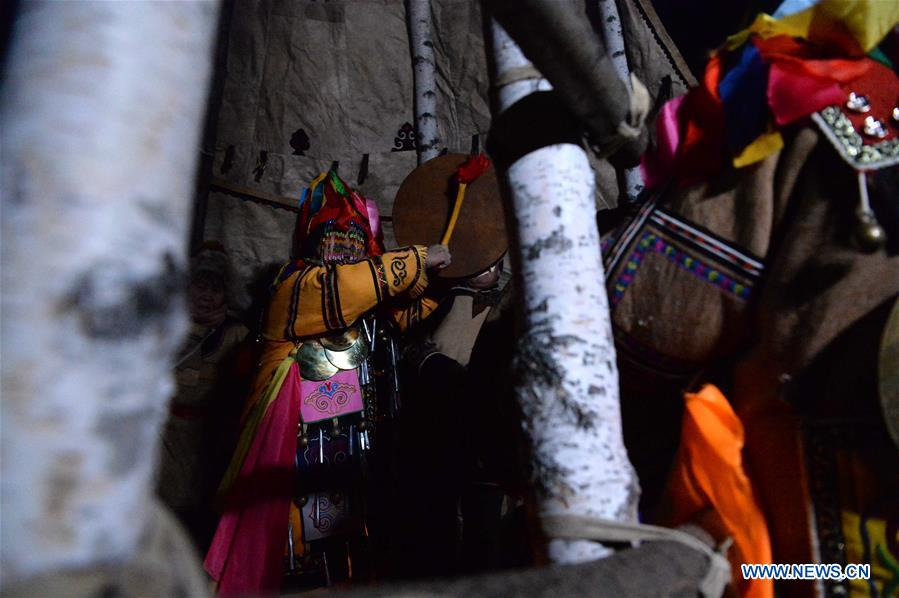 CHINA-HEILONGJIANG-OROQEN PEOPLE-SHAMANIC CULTURE (CN)