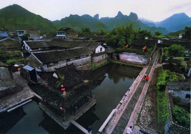 浙江现存1149个古村落中宋代的最多