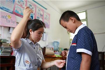 Teachers and 'left-behind children' in rural primary school