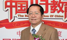 中国教育记协副主席刘堂江出席