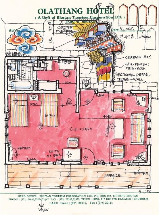 浦一也:旅行从手绘客房开始