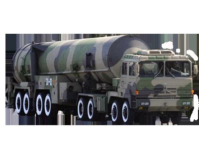 """""""东风-31A""""弹道导弹"""