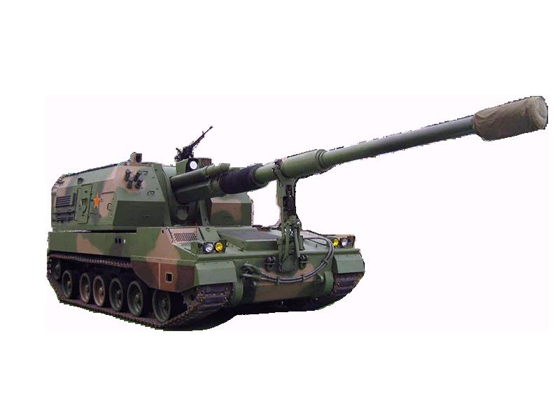 plz-05式155mm自行加榴炮