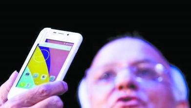 只卖4美元?印度推出最便宜智能手机