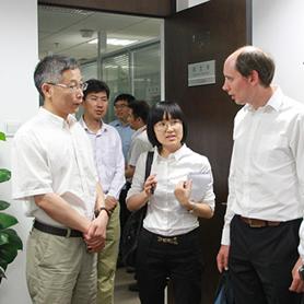 Secretary General of AIPH Inspects Bureau of Beijing International Horticultural Exhibition Coordination