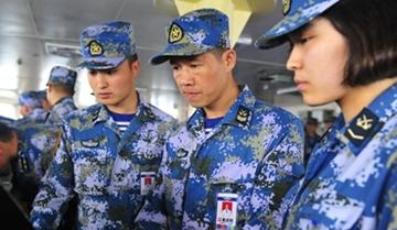 黄活明:航海部门士官长