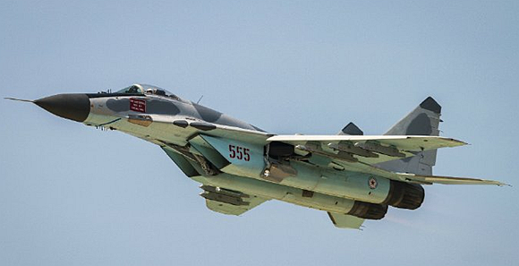 朝鲜米格29战斗机涂装酷似F22
