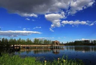 家住妫河河畔,推窗即是风景