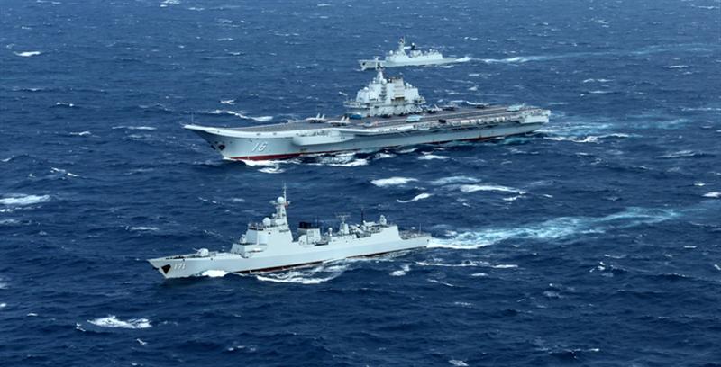 新年伊始,中国海军航母编队在忙些啥?