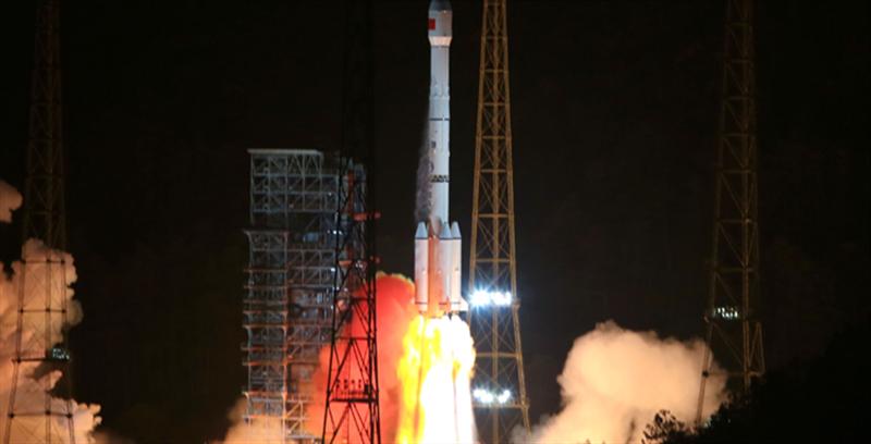 我国成功发射通信技术试验卫星二号