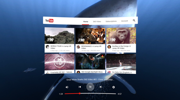抢占未来?YouTube打造VR社交