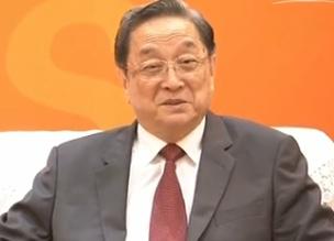 俞正声会见出席第九届海峡论坛的两岸各界人士
