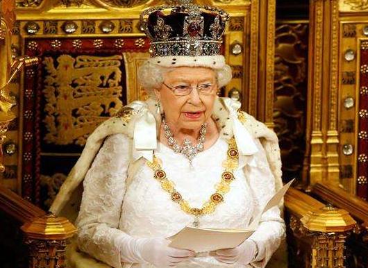 """英国女王表示将确保""""脱欧""""后稳定"""