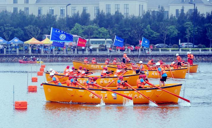 舟山队备战第四届中国海员技能大比武