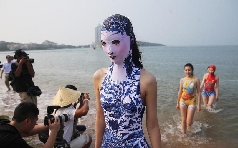 第七代臉基尼亮相 帶有青花瓷圖案