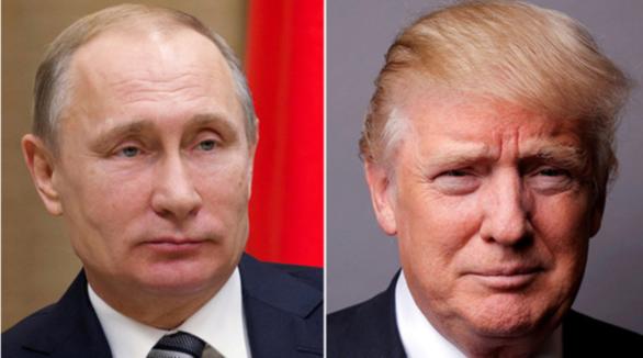 qq 普会/资料图:俄罗斯总统普京(左)和美国总统特朗普(右)