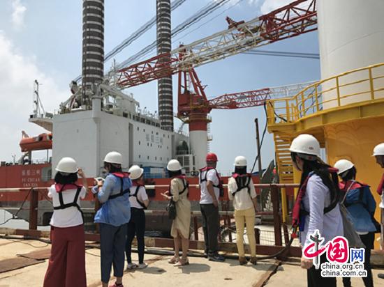 塑'风'范 展'风'采:中国长江三峡集团福建兴化湾海上风电