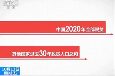 给力!中国过去5年平均每3秒就有1人跨过贫困线