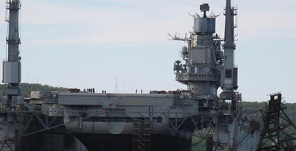 俄唯一航母大修最新進展曝光