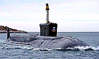 """俄罗斯第四艘""""北风之神""""级核潜艇下水"""