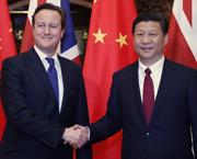 Xi Jinping trifft Großbritanniens Premier Cameron