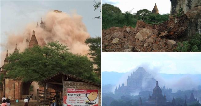 Erdbeben in Myanmar: 185 Tempel beschädigt