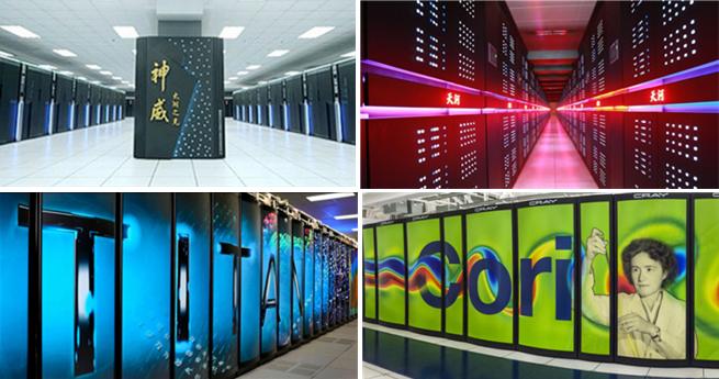 Die zehn schnellsten Computer der Welt