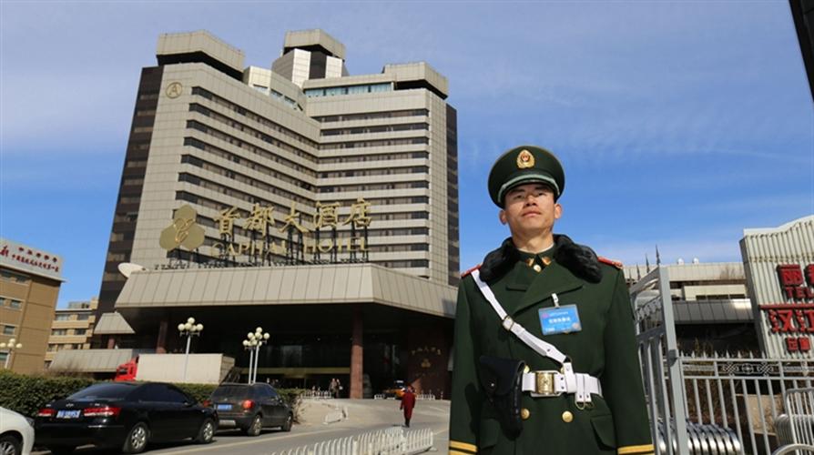 Beijing: Soldaten für die Sicherheit während der beiden Tagungen gut vorbereitet