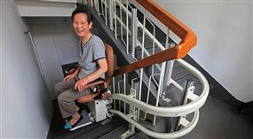 Treppenlift für Senioren