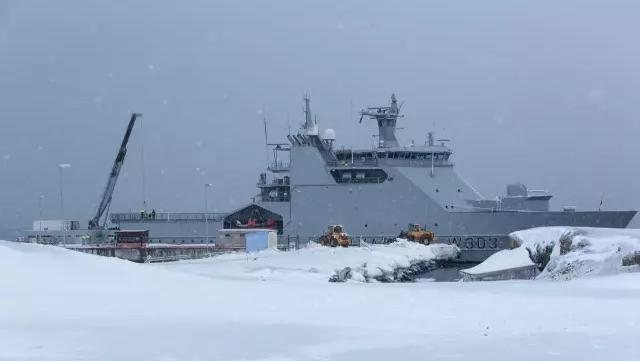 極地哨戒艦、海軍の発展方向を示す