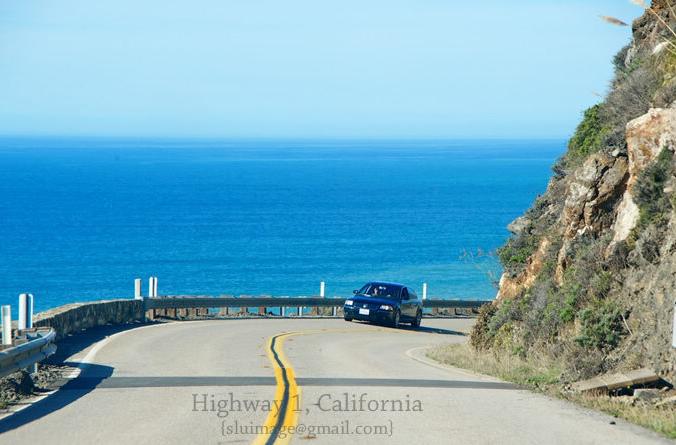 Красивые пейзажи вдоль автодороги номер 1 в штате Калифорния США8